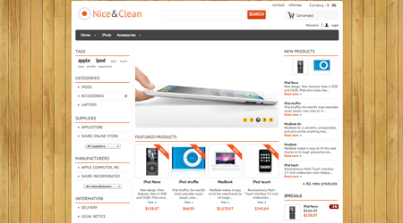 theme-prestashop-1.5-clean