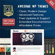 Tesla WordPress Themes