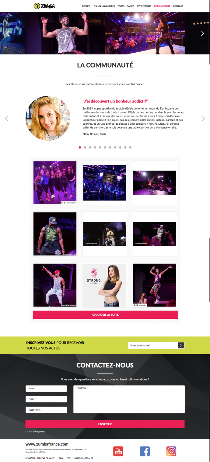 communaute-integration-wordpress-zumba